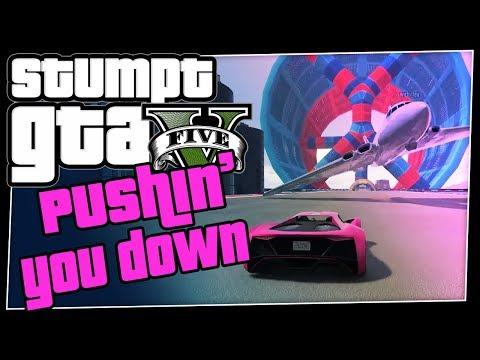 GTA 5 Online - #80 - Pushin' You Down (GTA V Teeny Weeny Races!)
