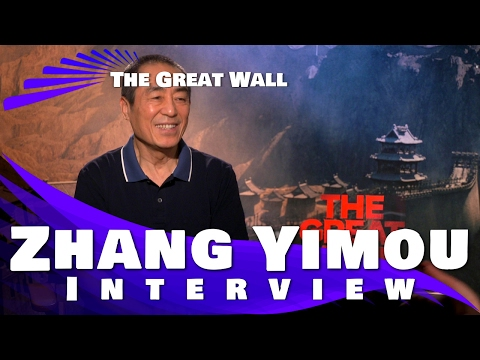 The Great Wall -  Zhang Yimou (director) Interview