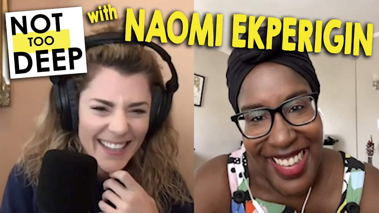 NAOMI EKPERIGIN (aka @BLACKTRESS) on #NotTooDeep // Grace Helbig