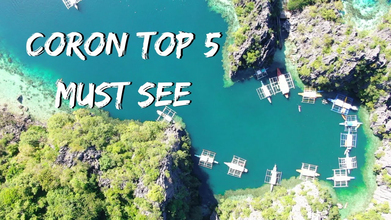 CORON TOP 5 must see and things to do - watch before you travel