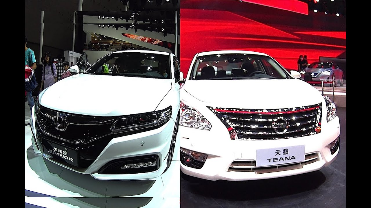 ... Honda Accord Spirior VS Nissan Teana Sentra 2016, 2017 model - YouTube
