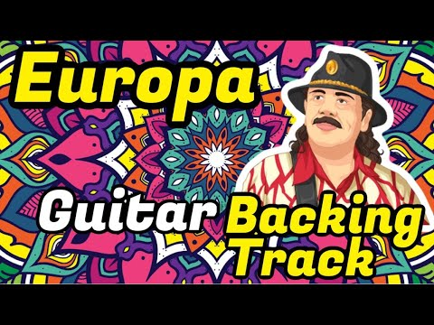 Europa Santana- Pista Para Guitarra (Backing Track)