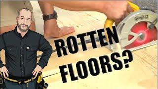 Floor Water Damage Repair | Repair or Replace?