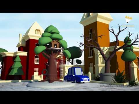 3D Cartoon Car Animation