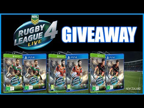 RUGBY LEAGUE LIVE 4 -GIVEAWAY !!
