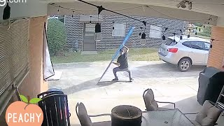 [30 Minute] Craziest Security Camera Captures!   Caught on Cam   Funny Moments
