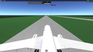 ROBLOX United Airlines Flight