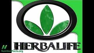 Jaterní toxicita z doplňků stravy Herbalife