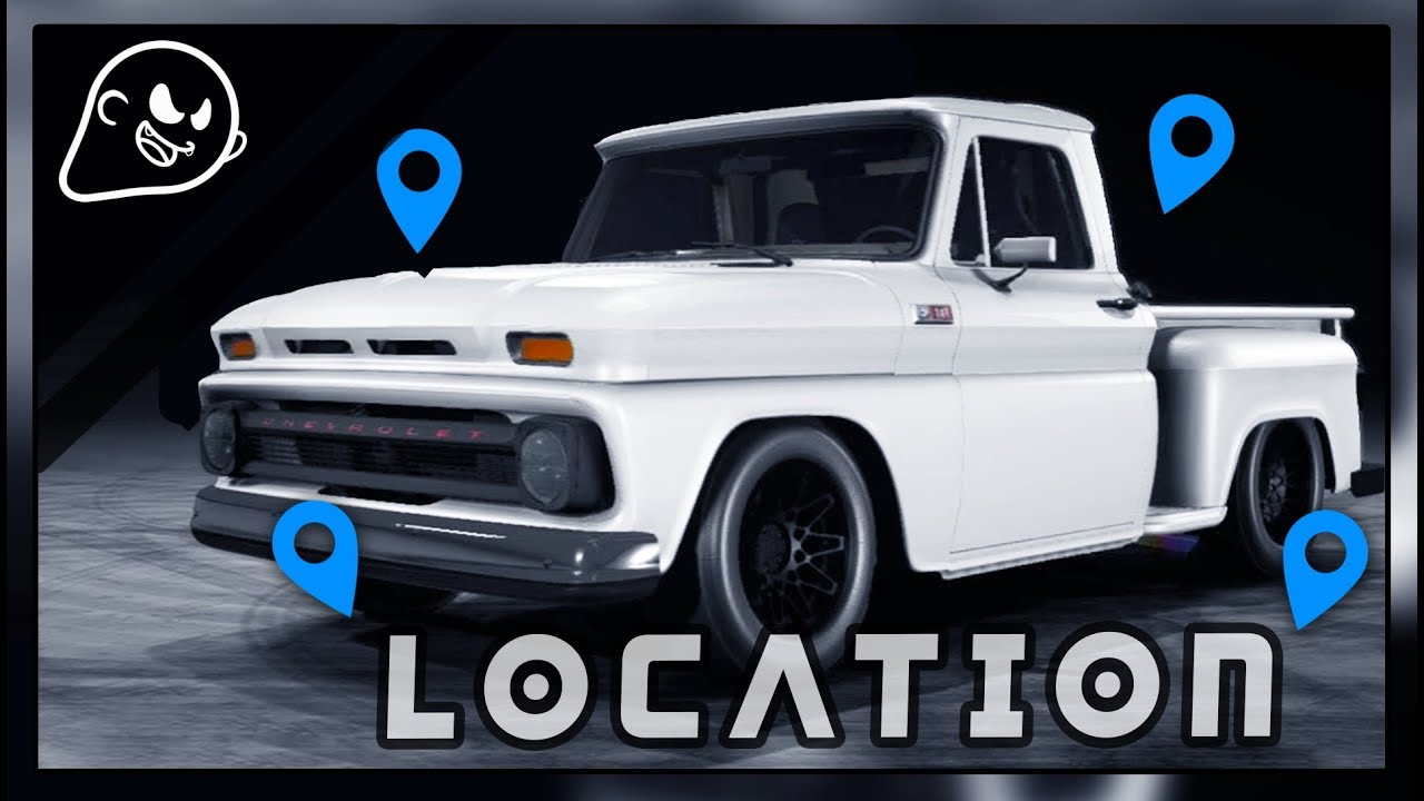 Guide nfs payback all chevrolet c10 1965 derelict parts locations
