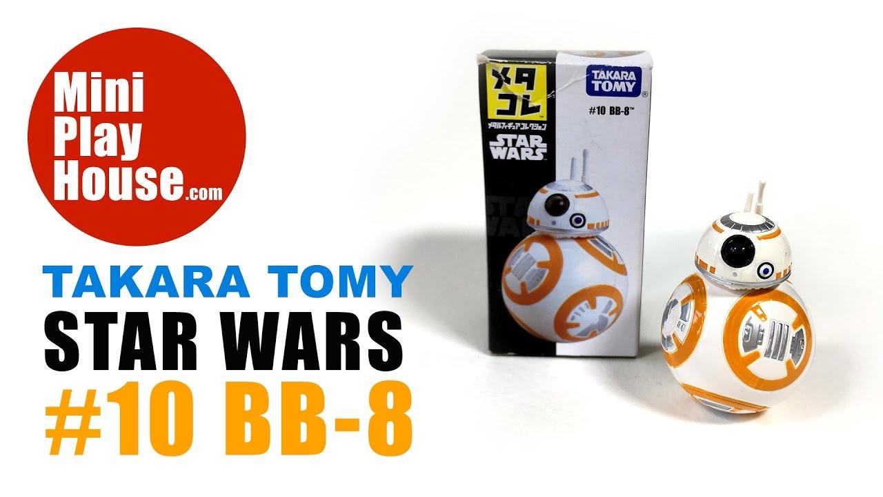 New Takara Tomy Metal Collection Star Wars No 10 BB-8 Die-Cast Figure