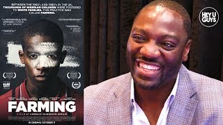 WriterDirector Adewale Akinnuoye-Agbaje on his brilliant new film Farming