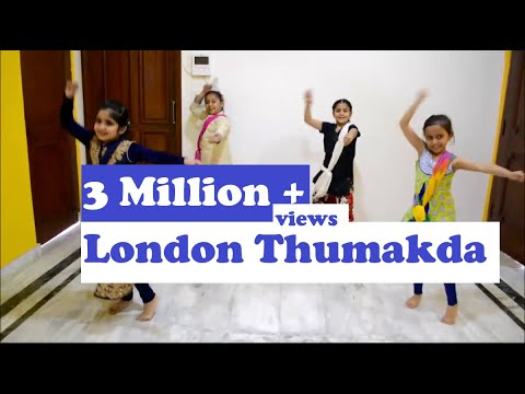 London thumakda, Choreography by Shweta Gupta - Cracker Dance Academy