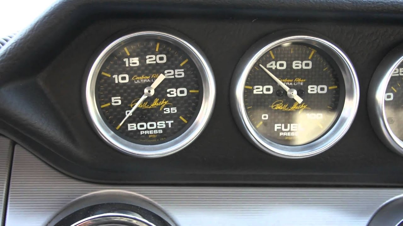 2007 Mustang W O E Shelby Gauge Pods Youtube