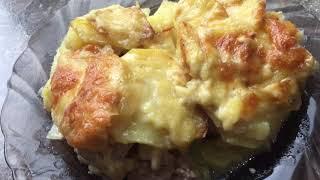 Картошка в духовке Нежная картошечка просто тает во рту