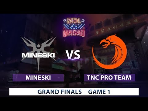 Mineski vs TNC Pro Team | Game 1 | Mars Dota 2 League Sea Qualifier
