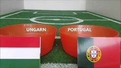 Emilias Fußball EM Tipp 2016 Ungarn : Portugal