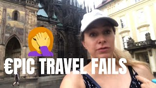 EVERY MISHAP THAT HAPPENED in EUROPE 🤦✈ - TRAVEL STORY TIME