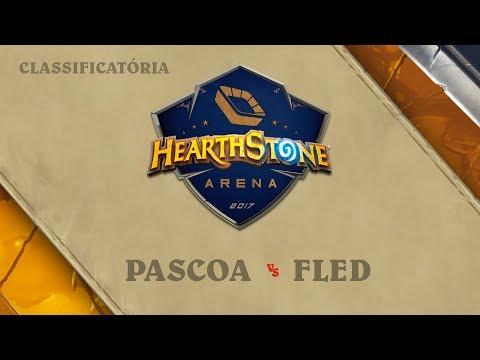 Pascoa vs Fled - Torneio de Acesso - Hearthstone Arena: Primeira Etapa