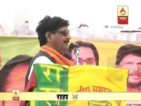 Gopinath Munde's last speech at Choundi. Dt. 31.05.2014