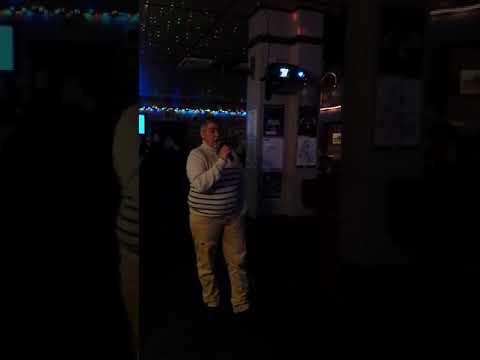 Wade @ gill karaoke night