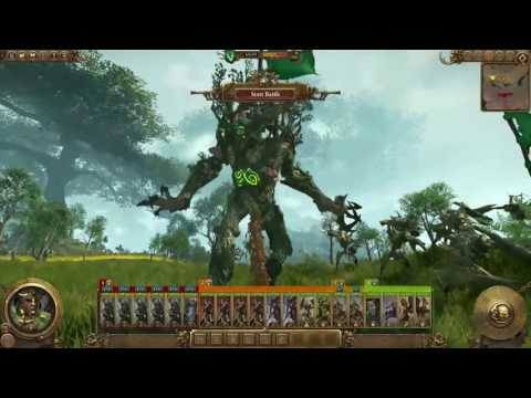 Total War Warhammer DLC - Realm of the Wood Elves - Battle Live Commentary |