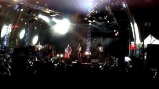 Nouvelle Vague - Love will tear us apart (with Greek Lyra) (Athens concert 13 Sep 13)