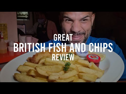 The Great British Fish And Chips  🍟 #7
