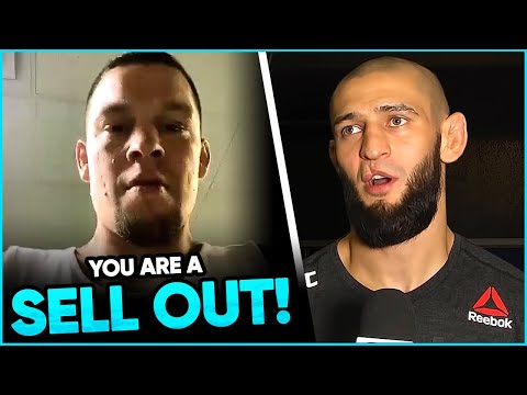 Nate Diaz REACTS to the announcement of the return of Jorge Masvidal, Khamzat Chimaev thanks Dana