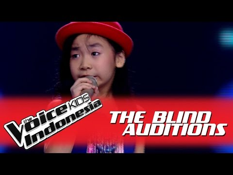 Jane  Don't Rain On My Parade  I The Blind Auditions I The Voice Kids Indonesia 2016