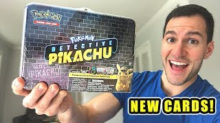 *NEW DETECTIVE PIKACHU POKEMON CARDS!* Opening Detective Pikachu COLLECTOR CHEST From GAMESTOP!
