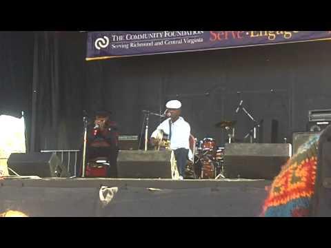 "Richmond Folk Festival 2012 John Dee Holeman & Phil Wiggins "" I am a stranger.."" Saturday 10/13/2012"