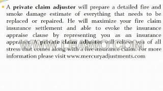 Private Claim Adjuster