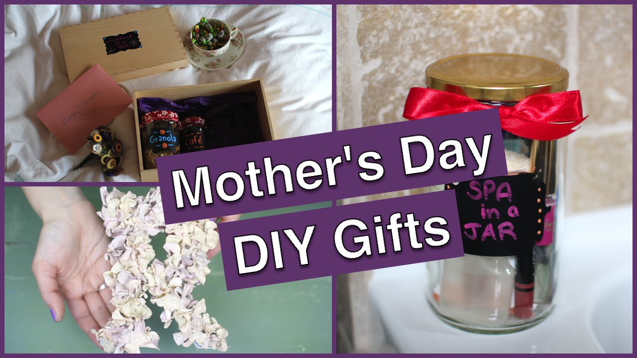 Diy Mother 39 S Day Gifts Breakfast In A Box Spa In A Jar