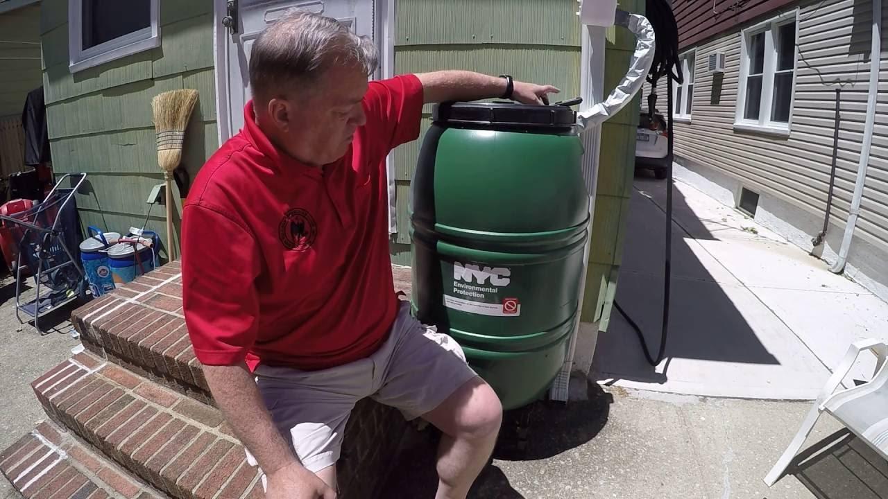 Nyc rain barrel giveaway
