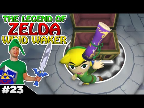 TRIFORCE CHART GET!┃Zelda Wind Waker HD ✪ #23