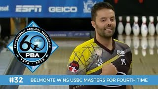 PBA 60th Anniversary Most Memorable Moments #32 - Belmonte Wins USBC Masters for Fourth Time