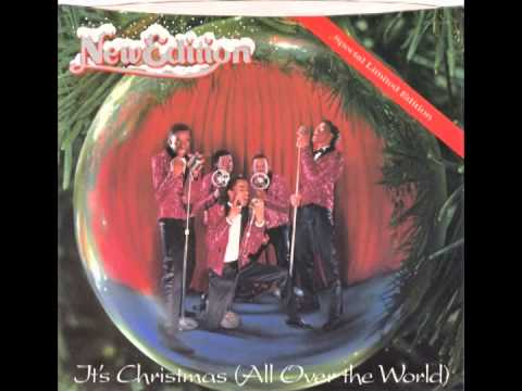 "New Edition – ""All I Want For Christmas (Is My Girl)"" (MCA) 1985"