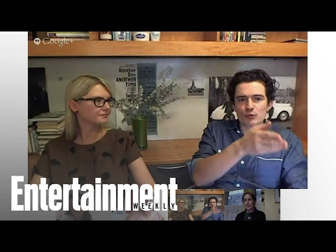 Orlando Bloom Hangout On Air With Entertainment Weekly | Entertainment Weekly