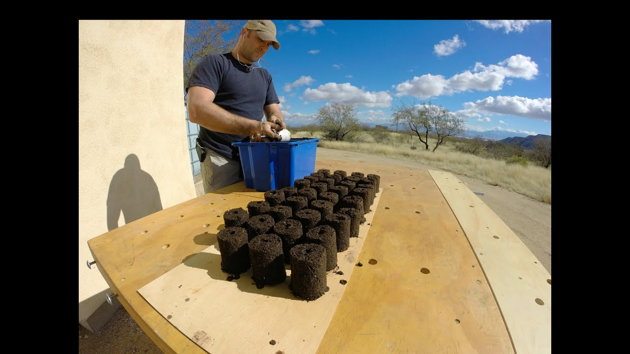Starting seeds with my soil block maker timelapse youtube for Soil block maker