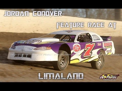 Jordan Conover Feature Race at Limaland
