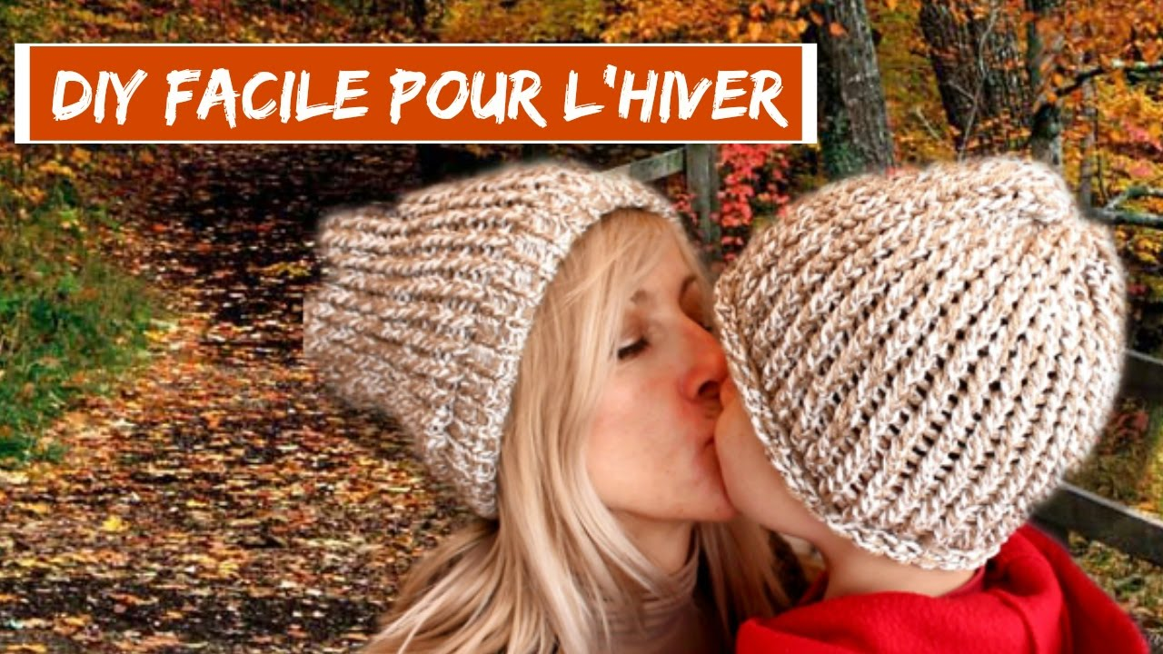 diy i realiser un bonnet pour l 39 hiver avec le tricotin de chez action i hyper facile et rapide i. Black Bedroom Furniture Sets. Home Design Ideas