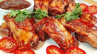 Рецепт отрывают с руками! Свиные Ребрышки Барбекю в духовке. Круче чем в ресторане!
