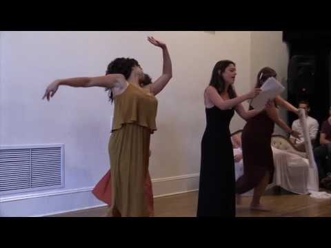"""""""WOMAN IS"""" at the NY Theatre Barn's Choreography Lab"""