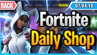 Fortnite Daily Shop 'NEUER'EMOTE 'OSTER SKINS (7 avril 2019)