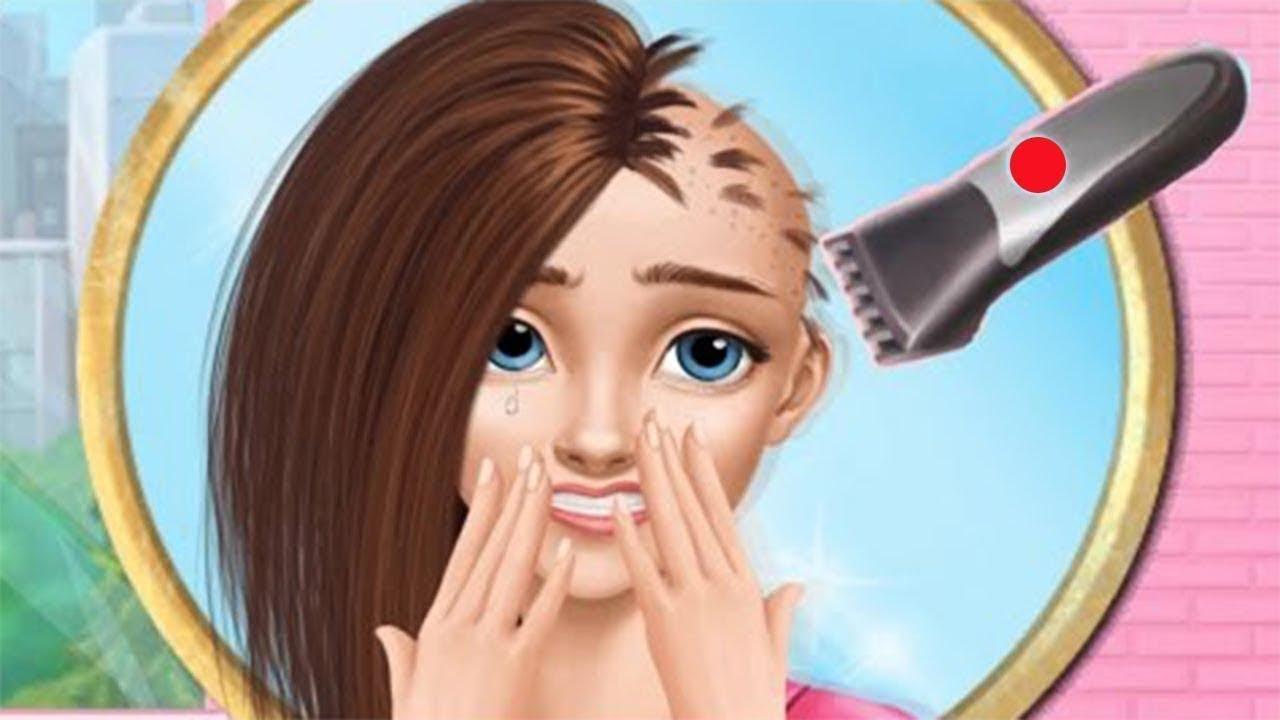 Game Vui Cho Bạn Gái – Làm Đẹp Da, Chăm Sóc Tóc, Cắt Tóc Và Chọn Trang Phục