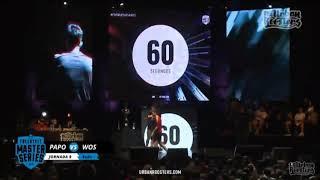 MINUTAZO DE WOS VS PAPO JORNADA 9 FMS