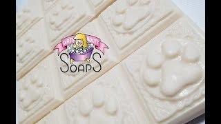 Making Natural Dog Shampoo Soap Bars! FREE RECIPE!!!