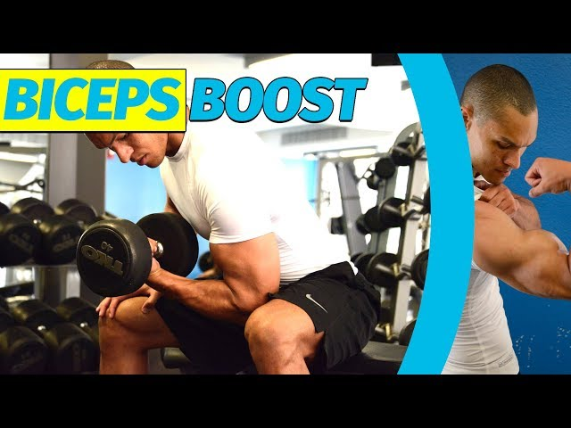 Biceps Boost Gym Exercises | My Fall 2018 Biceps Workout