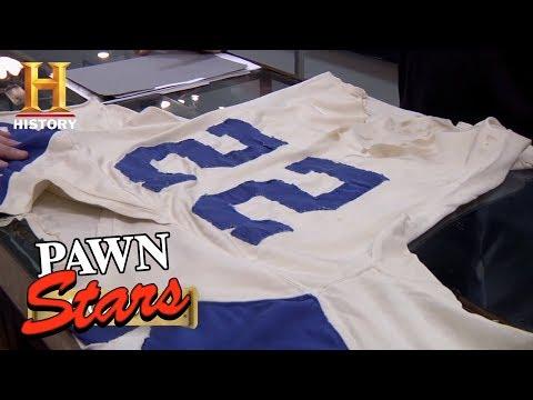 Pawn Stars: Bob Hayes Game Worn Jersey | History
