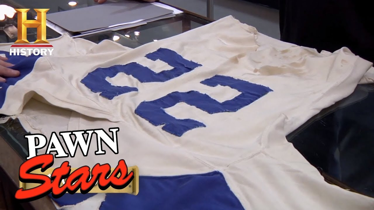 cheap for discount f2639 88eb8 Pawn Stars: Bob Hayes Game Worn Jersey | History